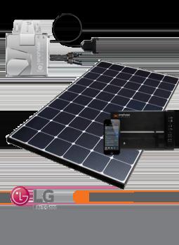 LG-NeON-315W-Solar-Panel-Enphase-Keen-2B-Green