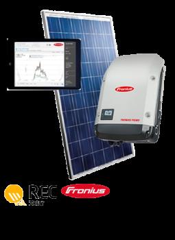 REC-Peak-Energy-Solar-Panel-Fronius-Keen-2B-Green