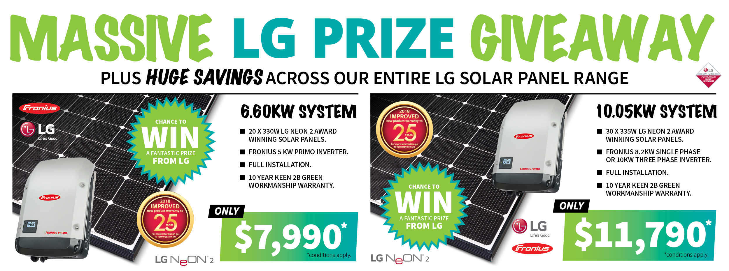 LG Appliance Giveaway - Keen 2B Green