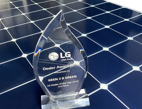Keen 2B Green achieves LG's No. 2 Dealer Status in Australia for second year running