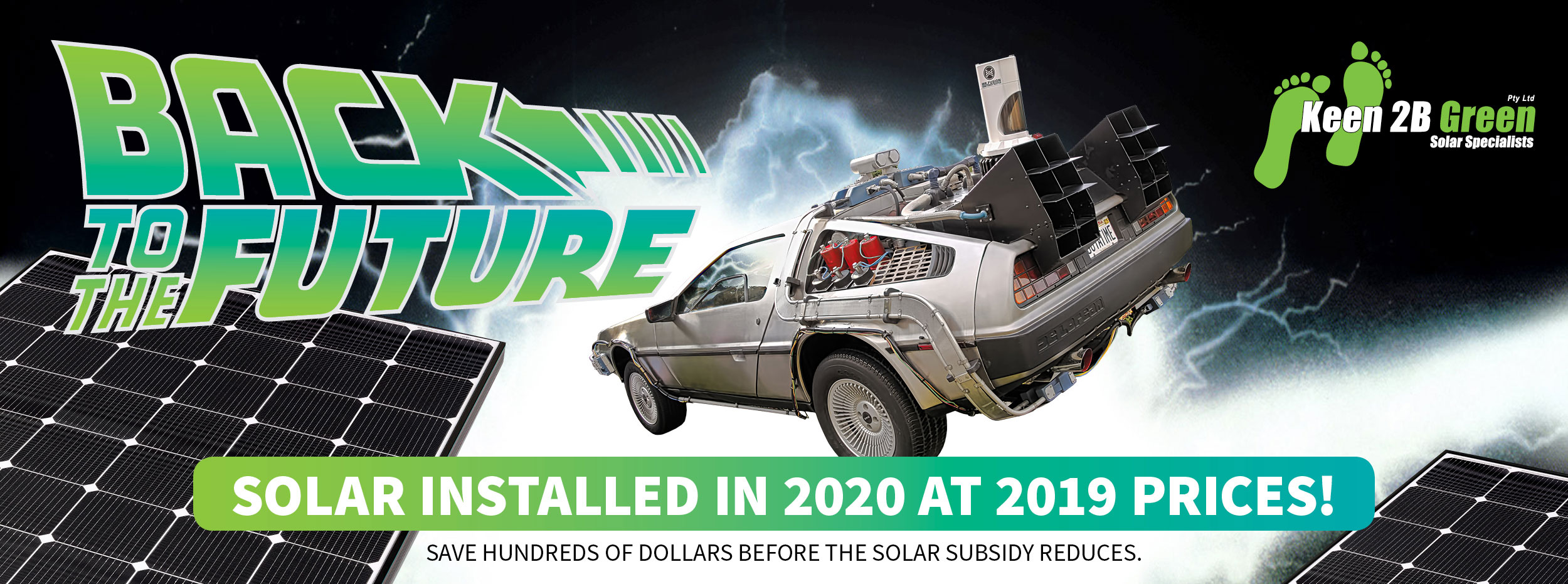 Back to the Future - Solar Installed in 2020 at 2019 Prices