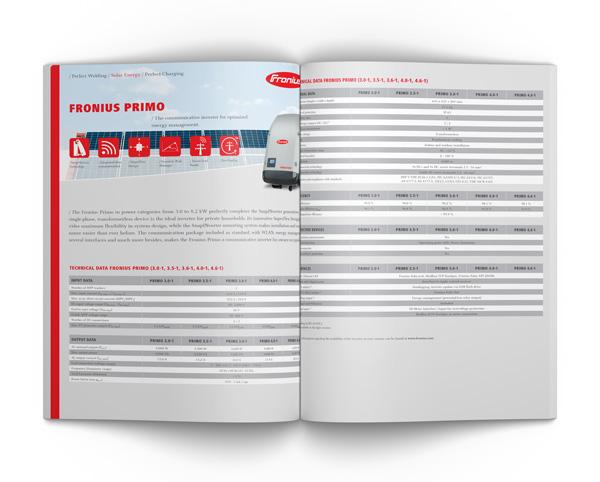 Fronius Primo Spec Sheet